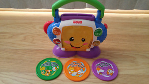 Fisher Price musical CD Player