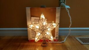 Lit Christmas Tree Topper (New)