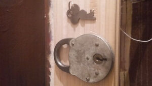 Yale and towne lock and key