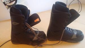 Snowboard bottes et fixs