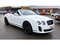 2010 Bentley Continental GTC 6.0 W12 Supersports 2dr Auto Automatic Petrol Conve