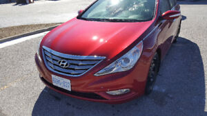 Hyundai Sonata Sedan with Winter tire set and Safety Certificate