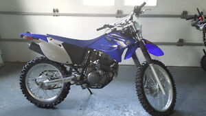 Immaculate 2012 Yahama TT-R230 on road- off road