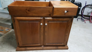 Solid Pine Dry Sink