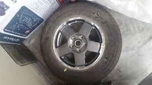 1 x Goodyear Fortera M+S P245/65R17 on 5 Bolt Wheel
