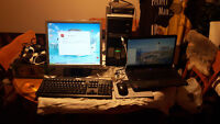 acer 5516 laptop  tower speakers printer mouse keyboard  300 all