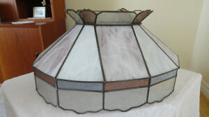 Oval Stained Glass Lamp Cambridge Kitchener Area image 1