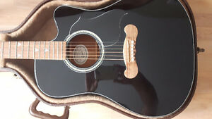 Gibson Songwriter DLX EC Special  Rare Black Piano finish
