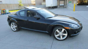 2005 Mazda RX-8, Only 79K, leather, sunroof, Warranty avaiable.
