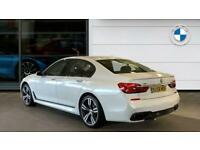2018 BMW 7 Series 740d xDrive M Sport 4dr Auto Diesel Saloon Saloon Diesel Autom