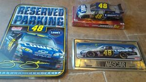 NEW Jimmie Johnson 48 Diecast Car, Metal Sign, Plate Man Cave