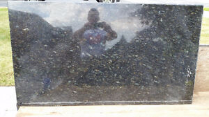 Black Pearl Granite counter top for a cottage or home reno