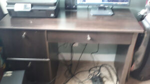 Matching desk and bookcase for sale
