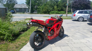 Ducati 1098S. Termignoni exhaust. Low mileage.
