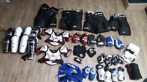 équipement de hockey