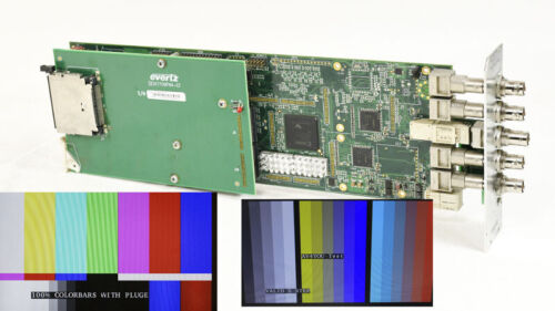 Evertz 7751TG2-HD +CF Dual HD-SDI Test Signal Generator with Embedded Audio