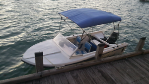 14ft Runabout and trailer