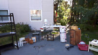 Yard sales Sunday August 27th all day 9 a.m.