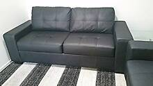 Black Tivoli 3 Seater Sofa Bed - Barely Used! Lidcombe Auburn Area Preview