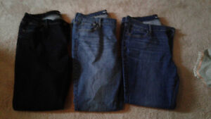 Women's Old Navy Jeans Lot All Size 14
