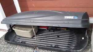 Thule cartop - Locking Double entry carrier