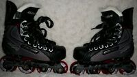 Youth Bauer SR1 Inline Hockey Skate--Like New!
