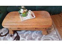 Real Oak coffee table