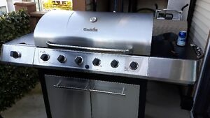 Char-Briol 6 burner BBQ