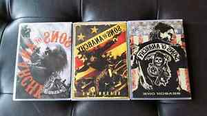 Sons of Anarchy Seasons 1 - 3