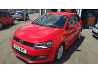 2011 Volkswagen Polo 1.4 Match 5dr * Low Mileage * Top Spec * Full S/History *