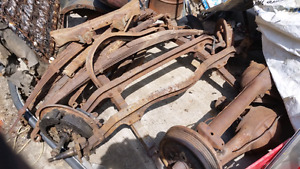 Early Dodge axles front and rear. Offers.
