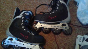 NIKE ONE UP HOCKEY ROLLERBLADES