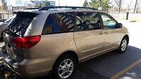 2004 Toyota Sienna XLE Limited AWD with Emission and Safety Cert