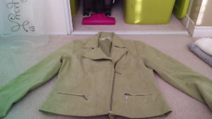 Ladies size 10 suede jacket in very good condition