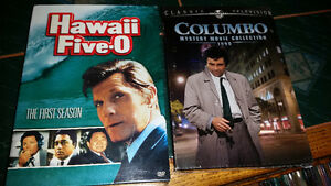 Hawaii five-0 1st season and Columbo movie collection 10$ each.