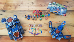 Two Lego Nexo Knights sets