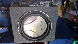 Ampli plus Subwoofer