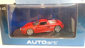 Autoart 1/43 Porsche Carrera GT Red Windsor Region Ontario image 1