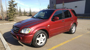 2001 Mercedes-Benz ML55 AMG package.