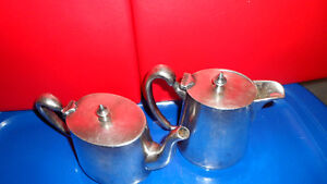 Vintage CPR Tea and Cream Silver Set $100. Prince George British Columbia image 4