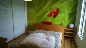 Lit + Commodes chambre à coucher