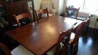 Mazin dining set w/ 6 chairs