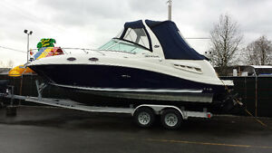 Sea Ray Sundancer 260 Cruiser Very Clean!