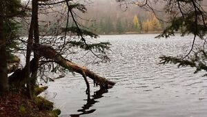 land, Lac Lajeunesse, 15 min from Morin Heights ski hill