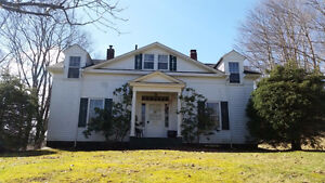Beautiful Century Home (partially furnished); large treed lot