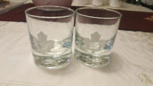 MAPLE LEAF GLASSES FOR SALE! MINT CONDITION! NEVER USED!