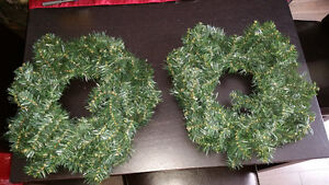 Two Xmas wreaths Kingston Kingston Area image 1