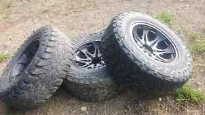 8x170 ford f350 rims superduty with 38 tires