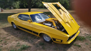 1973 Ford Mustang ProStreet Chassis