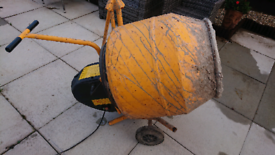 Cement Mixer electric 240v